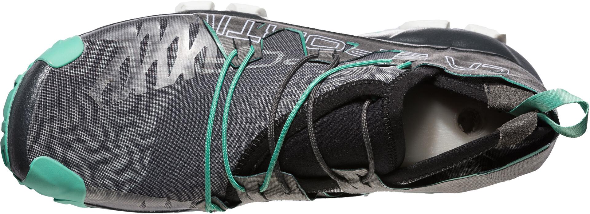 La Sportiva Unika Chaussures de trail Femme, carbonjade green
